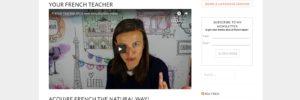 Alice Ayel – French teacher